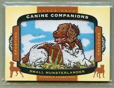 Small Munsterlander 2017 Upper Deck Goodwin Champions Canine Companions
