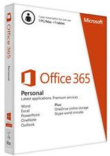 Microsoft Office365Personal (Nur Lizenz) (5) - Vollversion für Windows, Mac QQ2-00047