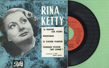 RINA KETTY / La madone aux fleurs / PATHE 45 EG 194 Pressing France 1956 EP EX