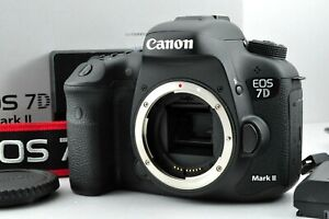 [N.Mint in Box] Canon EOS 7D Mark II 20.2MP Digital SLR by DHL from Japan #1019