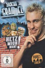Sascha Grammel - Hetz mich nicht (2010) - 2 DVD - NEU&OVP