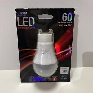 1x FEIT Electric 9.9 watts A19 LED Bulb 800 lumens GU24 A-Line 60 Watt