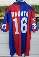 Rara maglia calcio Bologna, Hidetoshi Nakata 16 preparata serie A 2003/04 issued