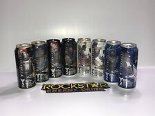 Rockstar Energy Drink Destiny 2 Forsaken Complete Full 8 Cans Set. FREE Sticker