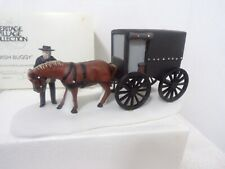 "Dept 56 New England "" Amish Buggy "" # 59498 Excellent Condition"