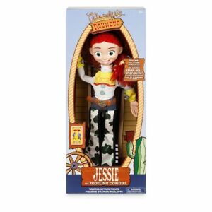"""Disney Authentic Toy Story Jessie Cowgirl Interactive Talking Doll Figure 15"""" H"""