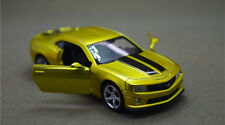 Chevrolet Camaro  1:43 Alloy Car Model Pull Back Vehicles Kids Toy --Gold