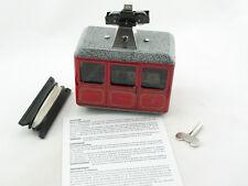 Blechspielzeug - Seilbahn, Gondelbahn - rot von KOVAP 0621r