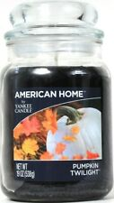1 American Home By Yankee Candle 19 Oz Pumpkin Twilight 1 Wick Glass Jar Candle