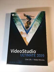 GENUINE Corel Video Studio Ultimate 2019 Live Life > Make Movies Windows