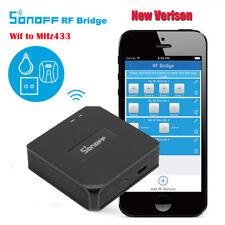 Original Sonoff RF Bridge 433mhz Wifi Remote Smart Switch Timer Smart Home GY