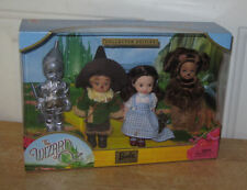 Kelly Doll and Friends Tin Man, Scarecrow, Dorothy, Lion from The Wizard of Oz