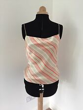 Women Strappy Stripy Top