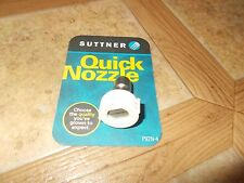 New Suttner Pressure Washer 1/4 Quick Connect Nozzle 40 D x 4.5 White N900004045