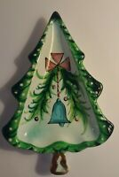 Vintage Holt Howard 1959 Ceramic Christmas Tree Candy Nut Dish Collectible
