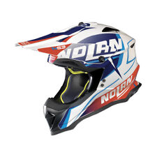 CASCO CROSS NOLAN N53 SIDEWINDER - 42 Metal White TALLA L