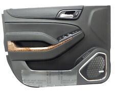 84365537 Front Driver Side Door Panel Jet Black 2015-18 Chevrolet Tahoe Suburban