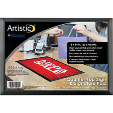 "Ad-Mat Countertop Sign/Signature Pad with Built-In Microban, 13"" H x 19"" W"