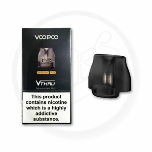 Voopoo VTHRU Pods 0.7 ohm Pod | 2pcs/pack for Voopoo vthru kit