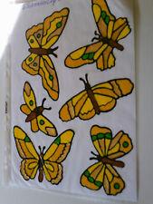 Window Color Bild Schmetterlinge Silber Frost Glitter Fensterdekoration 160