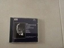 Markevitch Complete Orchestral Music Vol. 3 Rebus Hymnes Marco Polo