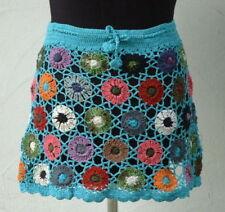 Knielange Damenröcke im Boho-Stil aus Baumwolle