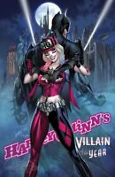HARLEY QUINN VILLAIN OF THE YEAR #1 - J. SCOTT CAMPBELL HARLEY & BATS' EXCLUSIVE
