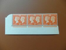 Great Britain 1940 Centenary First postage 2dx 3 u/m with corner edge of sheet
