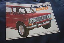 LADA 1500...8-Seiten-Prospekt.....RAR + TOLL. + TOP....1975