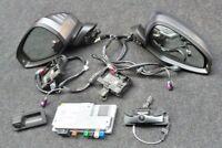 AUDI S4 A4 8W Außenspiegel Spiegel auto anklappbar 4x Umfeldkamera Steuergerät