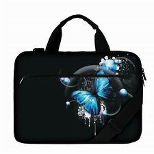 "Luxburg® 17"" Luxury Design Laptop Canvas Bag with Shoulder Strap & Handle #BS"