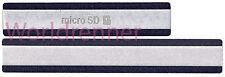 USB SD SIM Cubierta N Carga Capa Tapa Cover Set Cap Sets Sony Xperia Z2