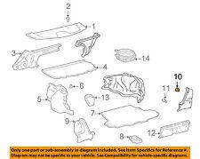 TOYOTA OEM 98-02 Corolla Interior-Rear-Corner Trim Clip 9046705053C0