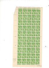 220616).....N° IRIS  EN BLOC DE 50   .....LUXE GOMME ORIGINALE.......