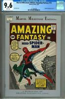 Amazing Fantasy 15 CGC 9.6 (My Rare CGC Graded Comics NR Auctions Begin 9-24-20)