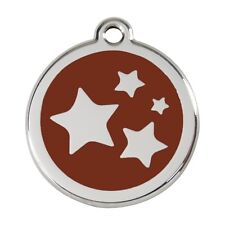 Red Dingo Dog ID, Pet Tag, Charm  FREE Personalized Engraved~STAR