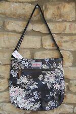 Cath Kidston York Flowers Cross Body Bag Deep Charcoal *BNWT*