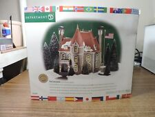 Dept 56 The Consulate Christmas in the City Series Ltd Ed #58951