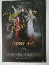 Hand signed photo 10,5 x 15 cm autographJessica Chastain Crimson Peak