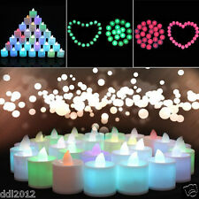 Romantic LED Light Electronic Candle Flameless Tea Light For Party Wedding Decor