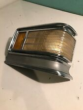 1975-1976 Cadillac Deville Fleetwood RIGHT Turn Signal Light Lamp LENS CORNER LT
