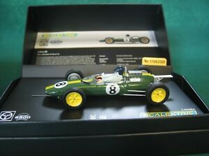 SCALEXTRIC C4068A LOTUS 25 LEGENDS LIMITED EDITION MINT BOXED