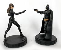 "Dark Knight Rises Batman & Catwoman Mini 2"" Figures CDI"