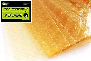 Halal Leaf Gelatine 50 Grams Beef Gelatin Sheets Leaves Silver Grade