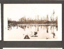 Vtg Postcard Okefenokee Swamp Park Waycross GA Georgia RPPC