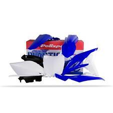 Yamaha YZ250F Full Plastic Kit 2010-2013 Blue/White
