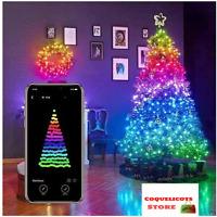 Nouveau Guirlande Lumineuse Arbre De Noël USB LED Bluetooth APP Sur Téléphone
