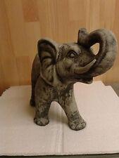 Steinfigur Elefanten Elefant Dumbo, Gartenfigur Tierfigur Dekofigur Skulptur