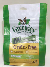 Greenies Teenie Grain Free  43 count 12 oz Dental Chew Treats for Dogs