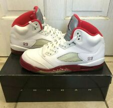 Jordan 5 Retro- Legacy Red/Scarlet Fire- Size 7Y- Near Mint